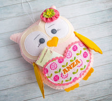 Custom plush owl