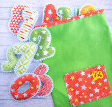 Magnet felt numbers for kids