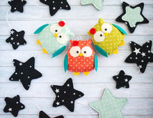 Owl nursery garland