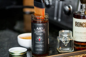 Specialty Food AR's Bourbon Barrel Aged Hot Southern Honey