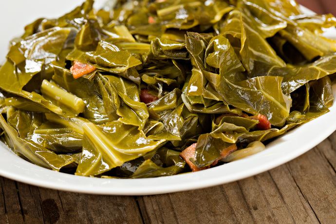 Sweet Heat Collard Greens