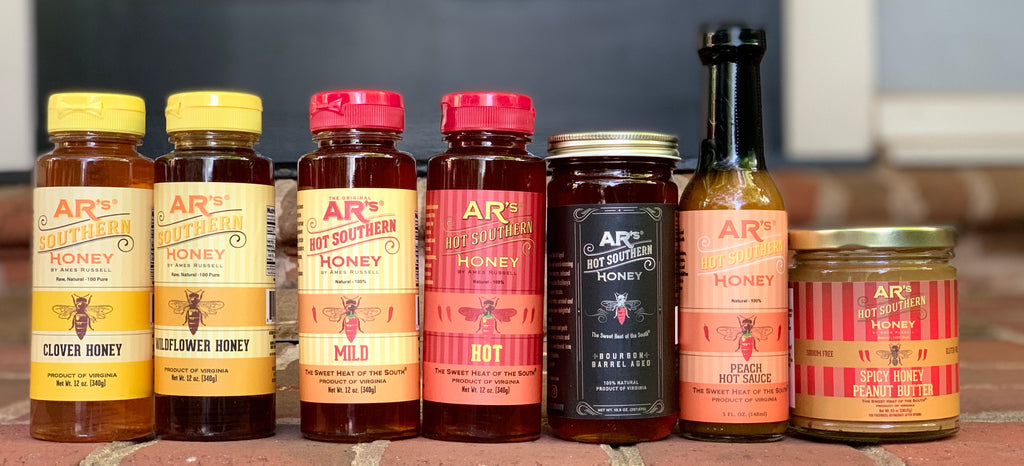 AR's Hot Southern Honey Product Line