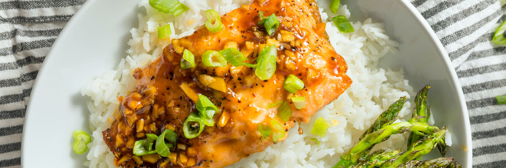 Hot Honey-Glazed Salmon
