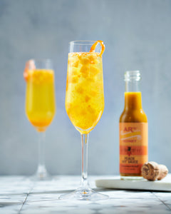 AR's Peach Hot Sauce Bellini