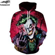 Load image into Gallery viewer, Joker 3D Printed Hoodie