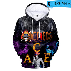 3D One PieceHoodies