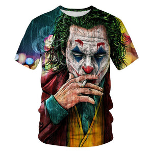 JOKER 3D Printed T Shirt