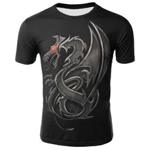 Load image into Gallery viewer, Dragon 3D Print T-shirt