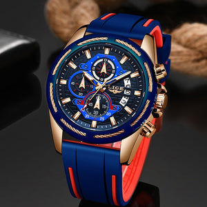 Relogio Masculino LIGE Fashion Mens Watches