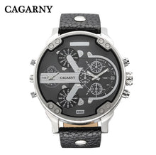 Load image into Gallery viewer, Classy Mens Wrist Watches Waterproof Dual Time Displays