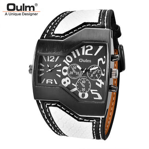Classic Style Two Time Zone Men's Watche