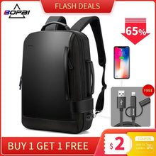 Load image into Gallery viewer, USB External Charge Backpack