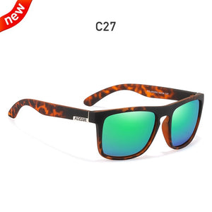 Classic Design All-Fit Mirror Sunglass With Brand Box CE