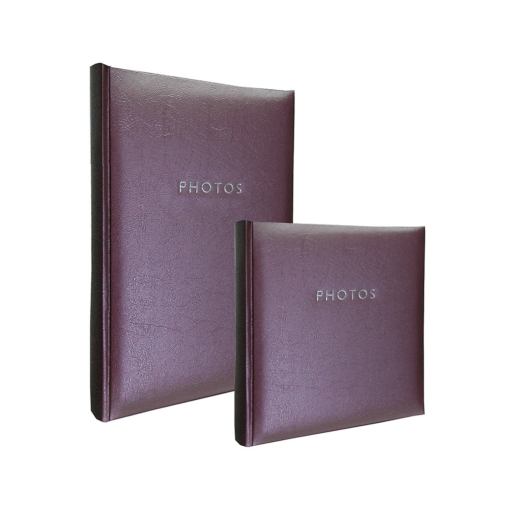 Profile Glamour Slip In photo album - Hold 200/300 photos in purple