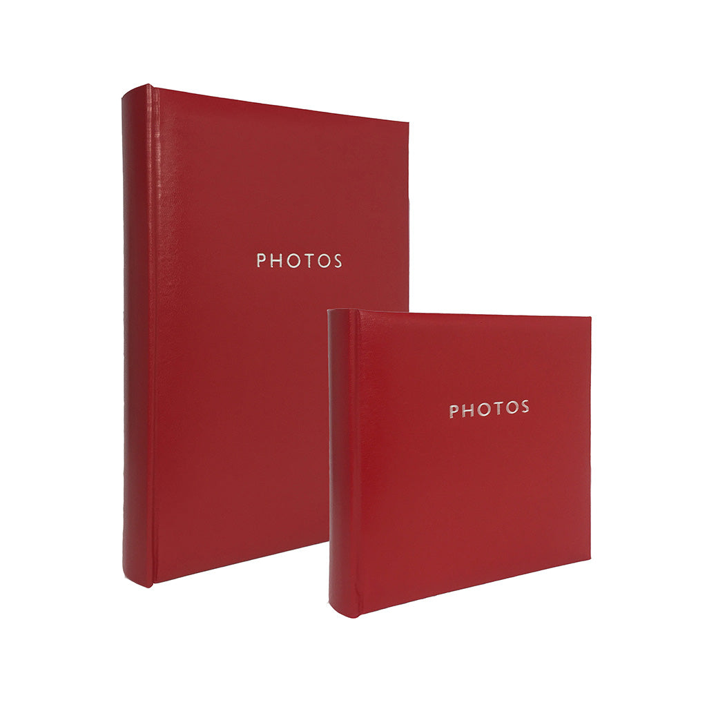 Profile Glamour Slip In photo album - Hold 200/300 photos in red