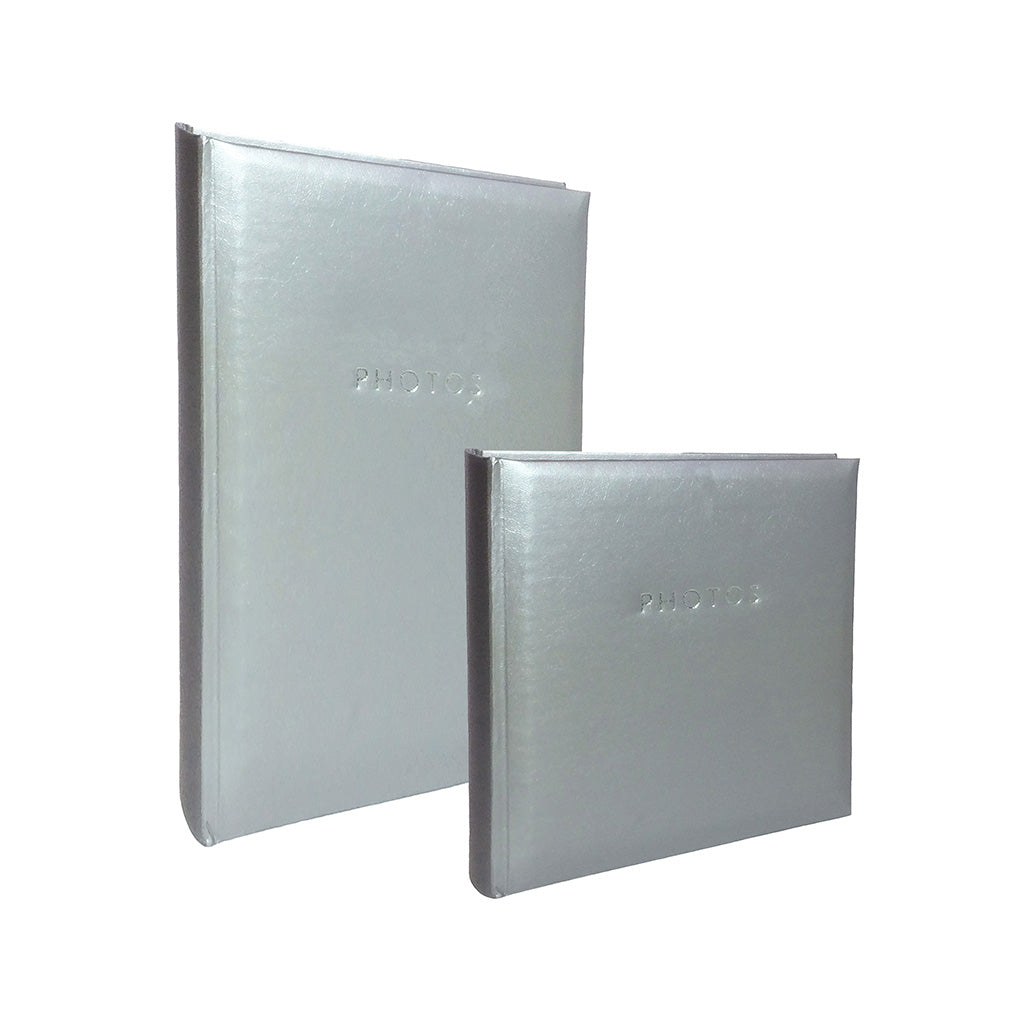 Profile Glamour Slip In photo album - Hold 200/300 photos in silver