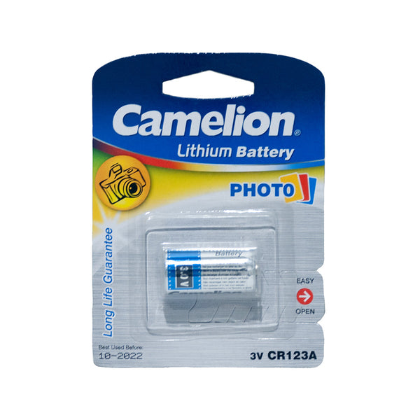 Camelion Lithium CR123A camera battery