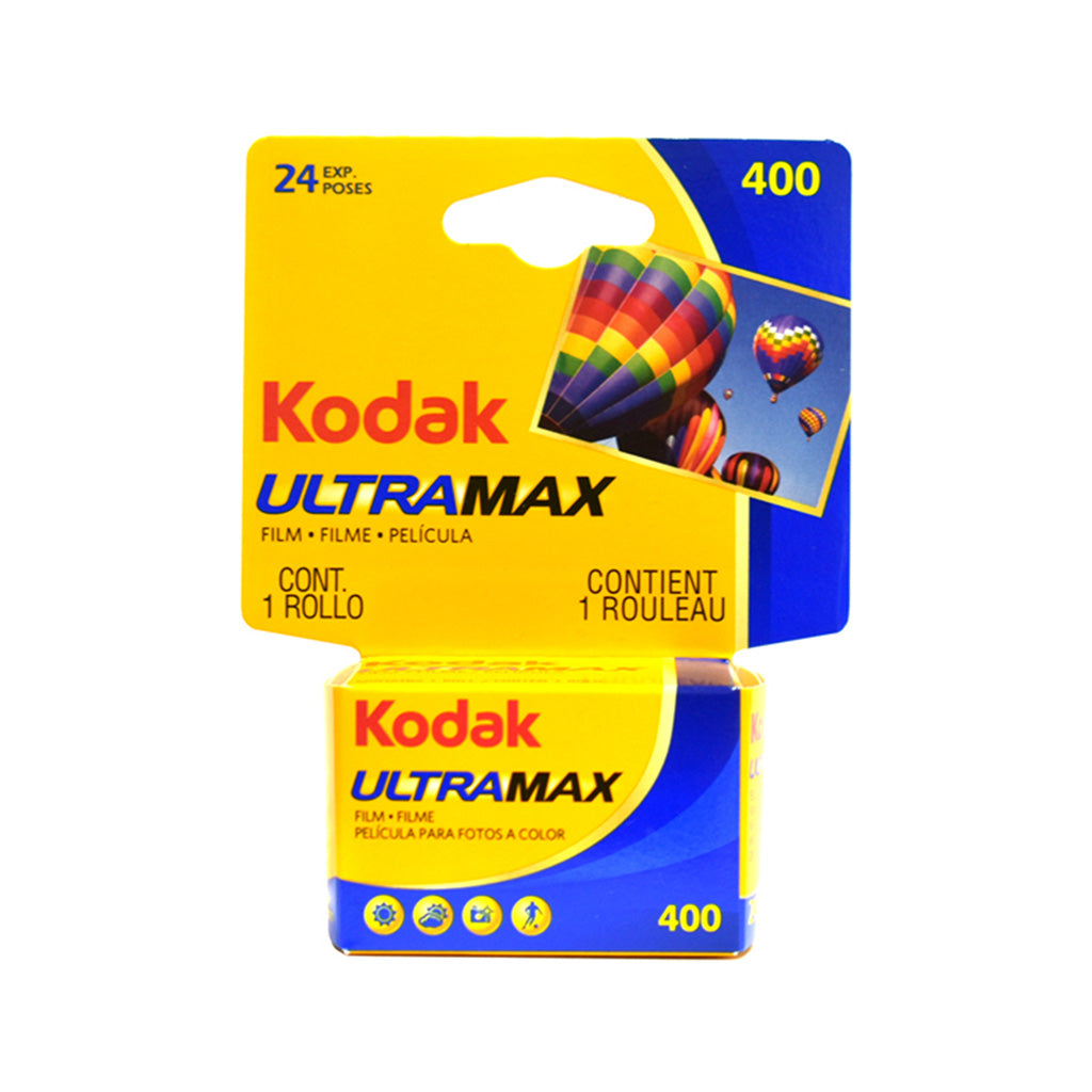 Kodak Ultramax 400 35mm film roll - 1 pack