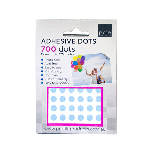 Adhesive Dots - Photo safe and easy to remove