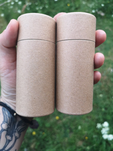 Cardboard Tubes - make your own.