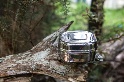 Stainless Steel Tin/Travel Tin