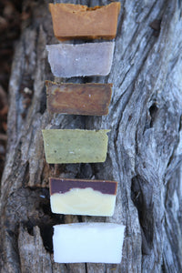 Shampoo Bars Sample Pack x 6 bars (VEGAN)