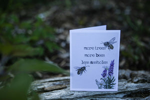 Gift Card Artwork - Sweary Passionate Bees