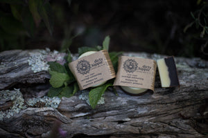 Peppermint Patchouli Shampoo & Bodywash Bar (Vegan)