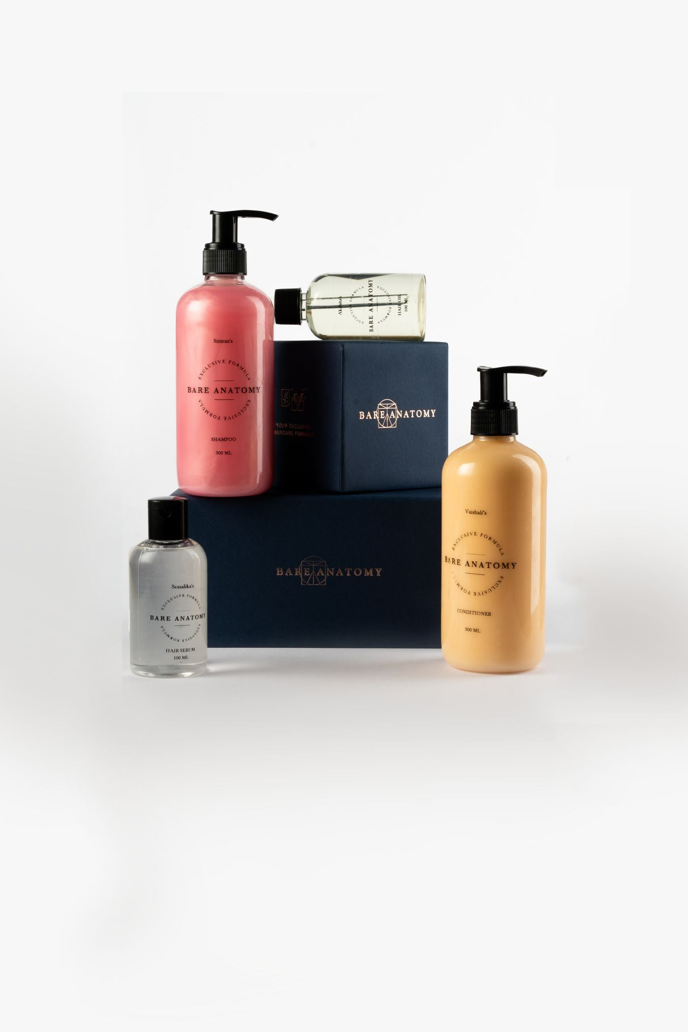Bare Anatomy A personalized hair care kit, made just for your hair