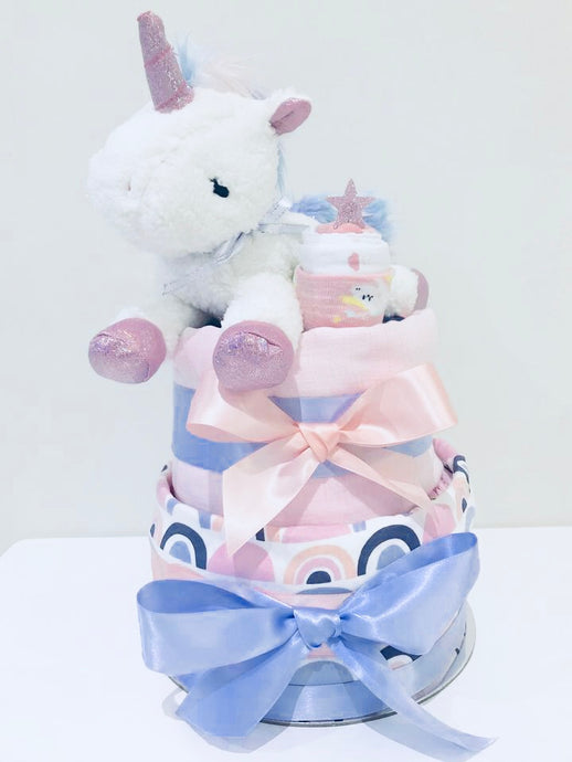 Unicorn Nappy Cake