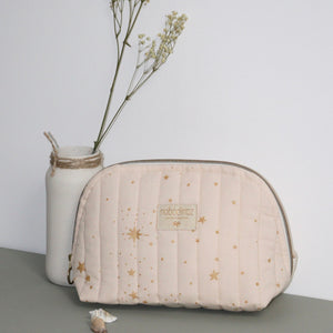 "Trousse de toilette ""Gold Stella Dream Pink"" Nobodinoz"