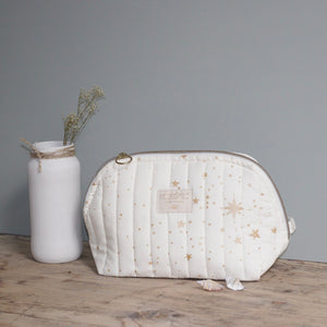 "Trousse de toilette ""Gold Stella Natural"" Nobodinoz"
