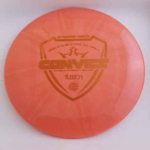 Convict - Fuzion Burst - Red - 174g