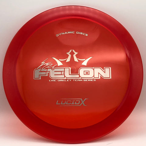 Felon - Lucid-X - Red- 172g - Eric Oakley Team Series