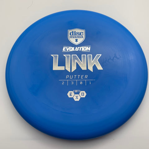 Link - Evolution - Exo Hard - Blue w/Silver Stamp - 173g