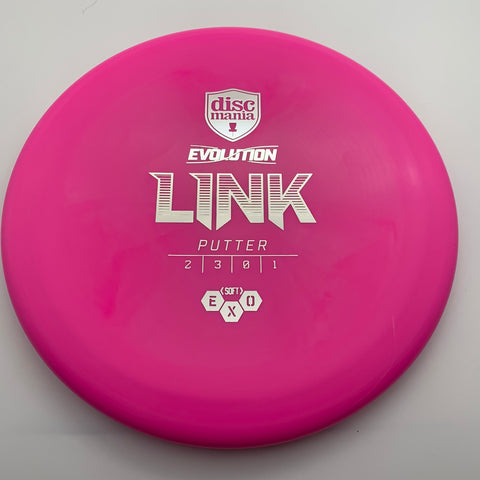 Link - Evolution - Exo Soft  - Pink w/Silver Stamp - 174g