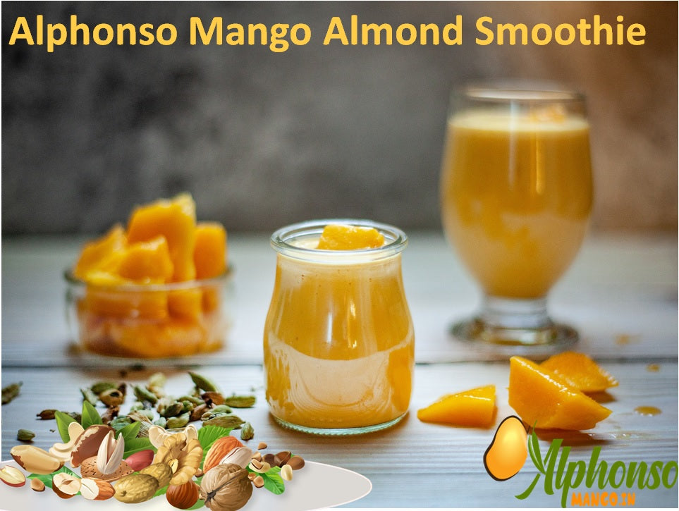 Alphonso Mango Almond Smoothie, Mango almond smoothie