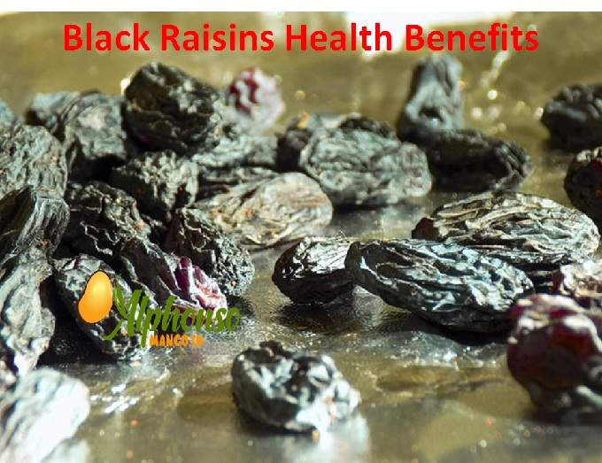 black raisin Health benefits