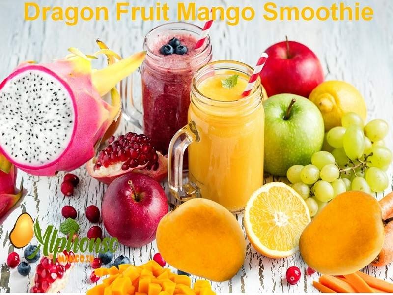 Dragon Fruit Mango Smoothie