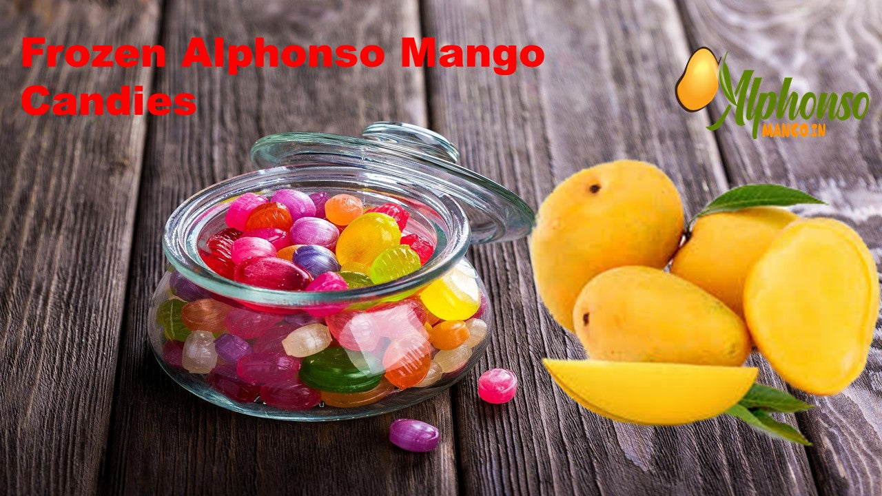 Frozen Mango Candies