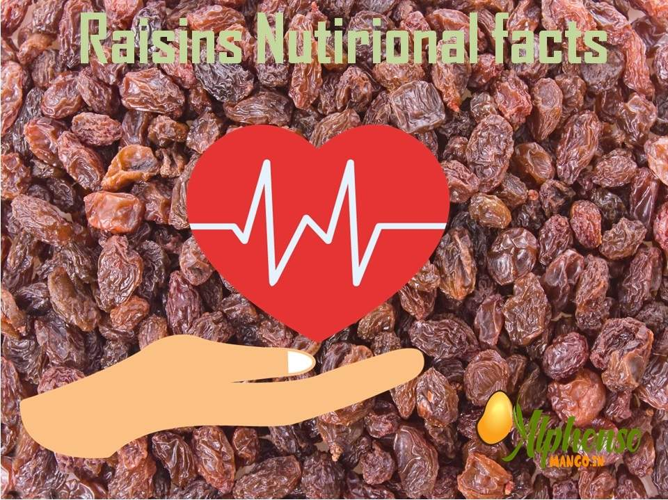 Raisins Nutrition facts
