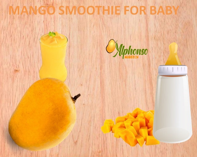 Mango Smoothie for Baby