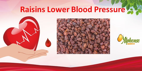 Raisins Lower Blood Pressure