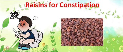 Raisins for Constipation