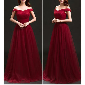 Slim Bride Wedding Party Evening Dress