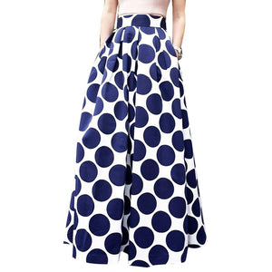 Polka Dot Big Hem Skirts