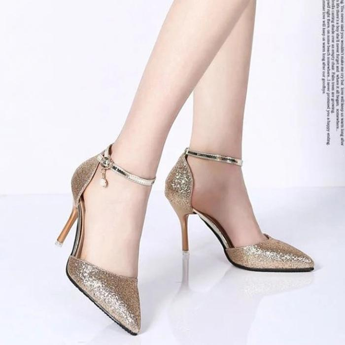 Lovely Elegant Pointed Toe Sandals Lady Shoes