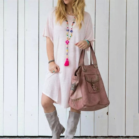 Women's Classic Casual Loose Dress