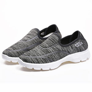 Flat  Cotton  Round Toe  Casual Sneakers