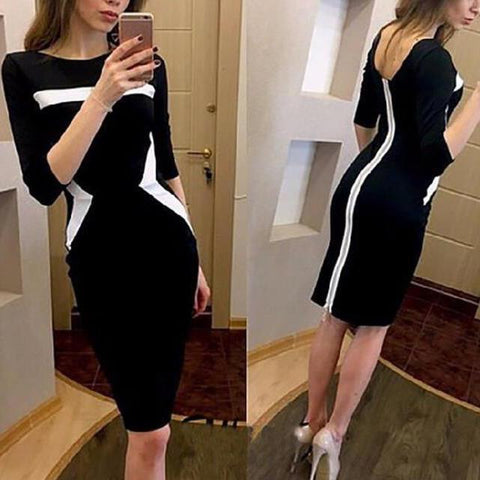 Slim Temperament Bodycon Dress